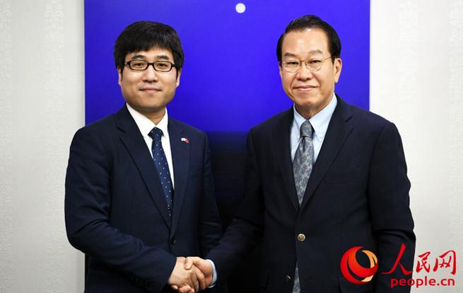 """韩国国会议员权宁世:""""韩中关系对世界繁荣至关重要"""""""
